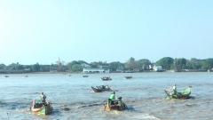 barques port de Rangoon