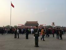 Pekin place Tien an men