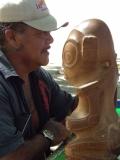 sculpteur et tiki DA
