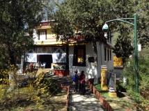 Lhassa, jardin du palais d_été
