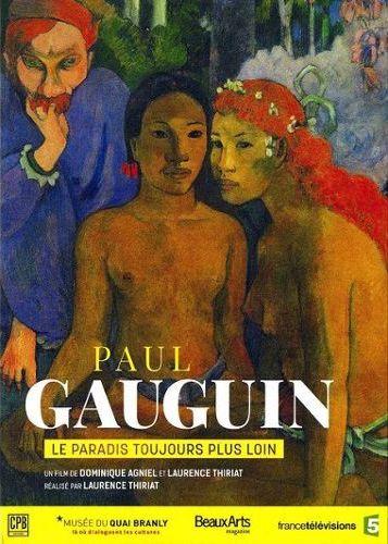 Affiche Gauguin, le paradis toujours plus loin, avec Laurence Thiriat 2016 Laure Dominique Agniel